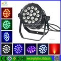 2015 New design for 18 pc 10w 4in1 rgbw led par light