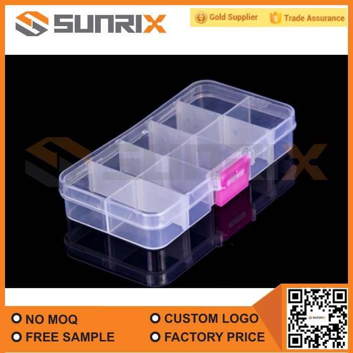 Adjustable 10 Compartment Pill Box, Pill organizer, Pill case