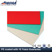 Alusign china factory insulated aluminum exterior metal wall panels