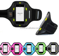 flashing nylon safety led armband reflective for iphone 5s