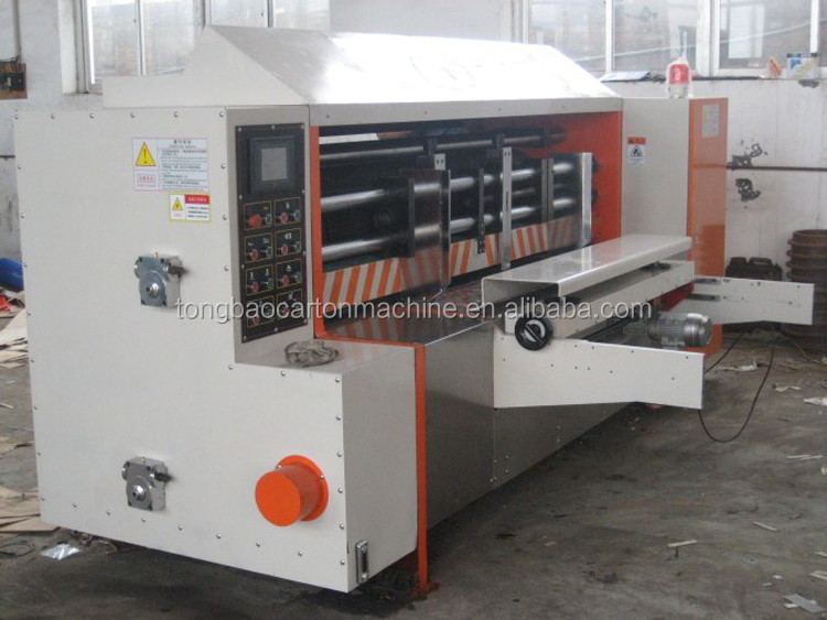 ledge edge high speed rotary die-cutter for corrugated carton