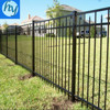 Hot Dipped Galvanized & Powder Coated Solid Metal Fence Panel
