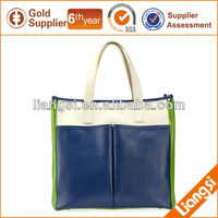 Ladies Pu Leather Tote Bag For Travel