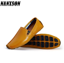 low MOQ slip on driving shoes