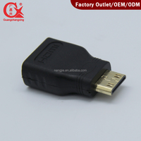 hdmi Female to Mini Male Type C Adapter Converter Tablet Phone DV