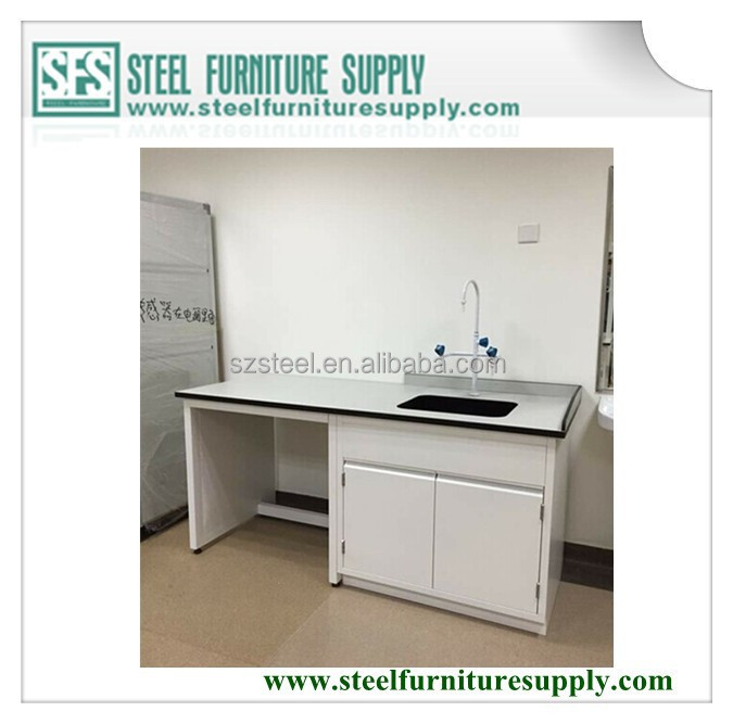 medical laboratory furniture, school laboratory equipment furniture, laboratory bench with sink