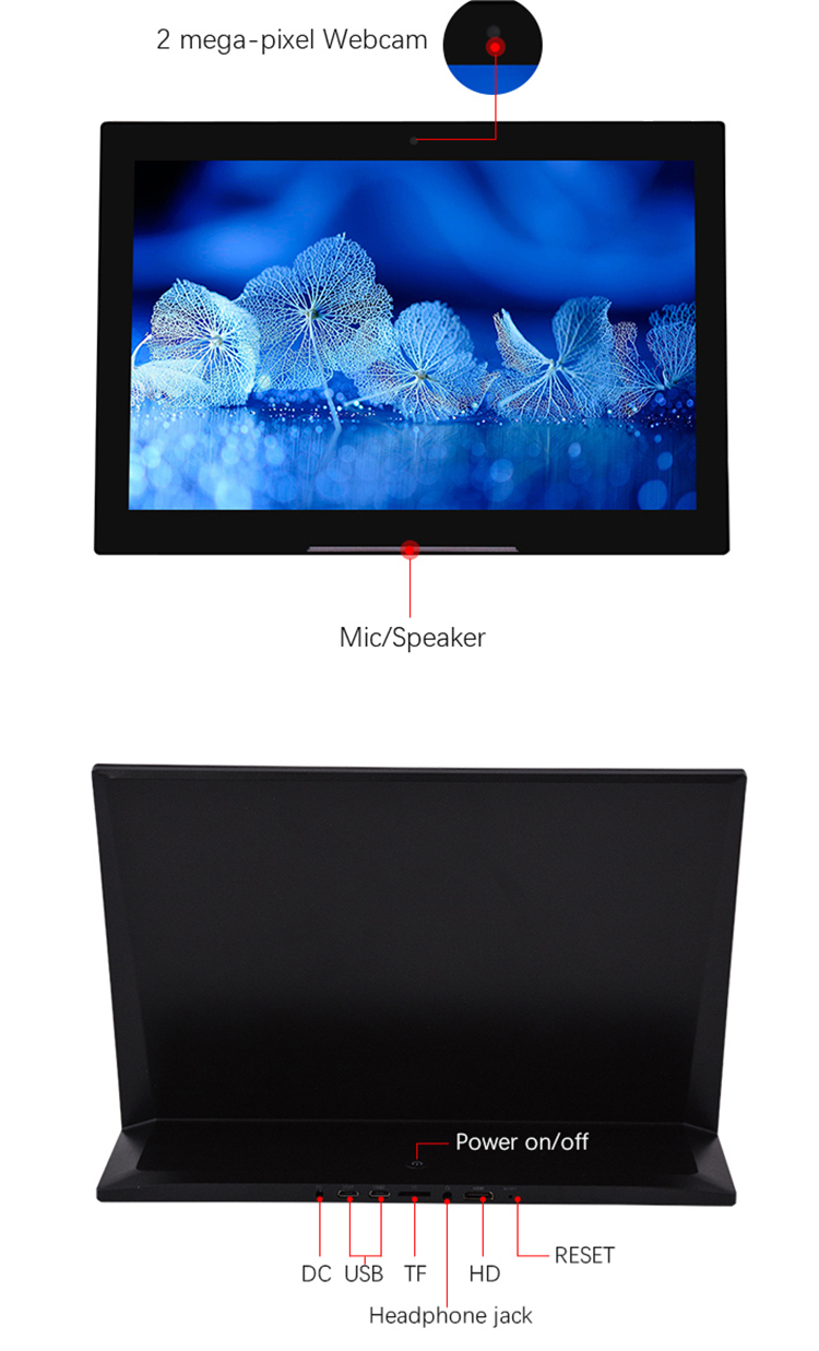 7 / 10 inch lcd IPS panel capacitive touchscreen tablet android