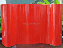 fiberglass spanish red color roofing sheet