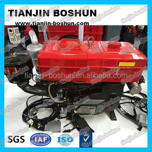 small tractor engine professional manufacturer agricultural machine Single cylinder diesel engine hp3-30