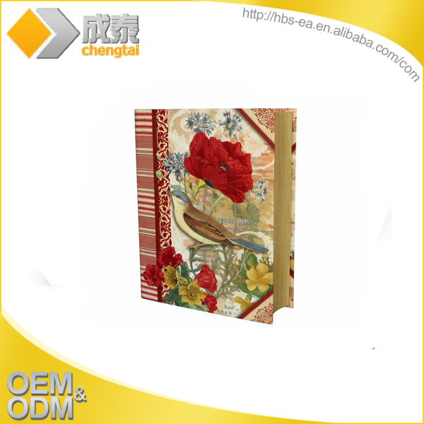 New style fake book shaped decorative gift boxes customized