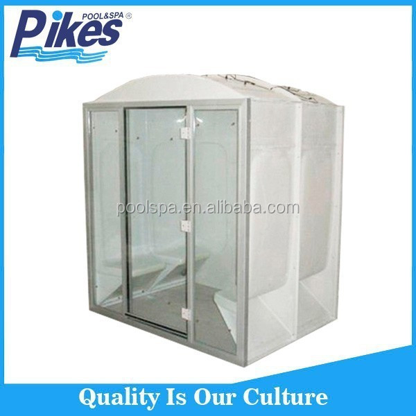 Cheap price Chinese commercial wet indoor outdoor steam room with generator