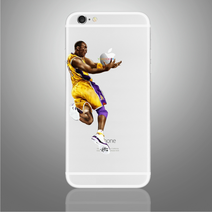 china product hot sale mobile phone kobe 11 stickers vinyl decorative decals for iphone skin
