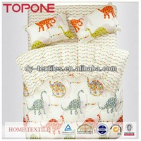 High quality New design microfibre bedding set made in india