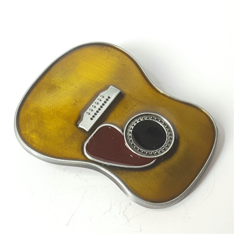 2018-13 Music guitar Western Belt buckle