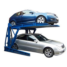 Two post mini hydraulic mechanical car parking system