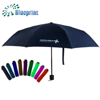Colorful popular cheap yiwu wholesale 3fold umbrella market