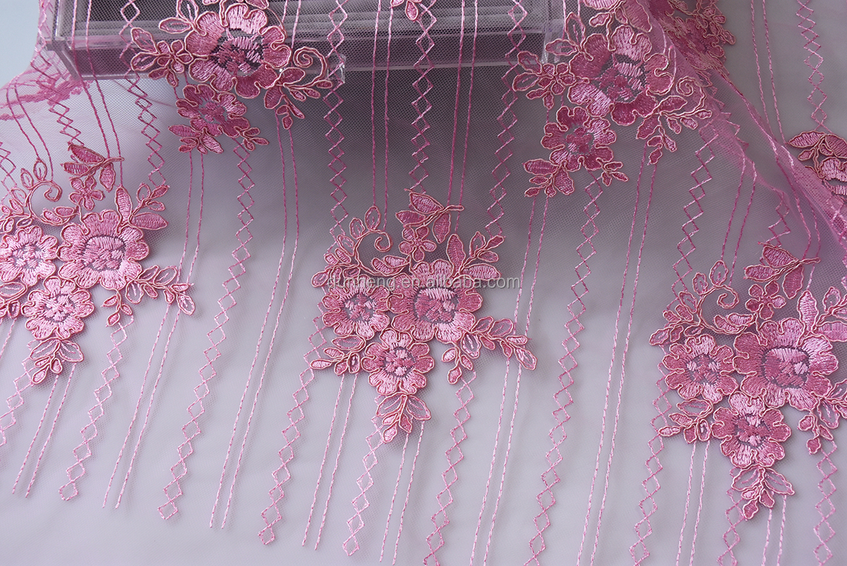 New Design -cord embroidered fabric-embroidery fabric