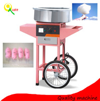 Electric Fairy Floss Sugar Cotton Candy Machine with Cart