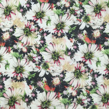 2017 fashion new design top quality digital print fabric cotton textile