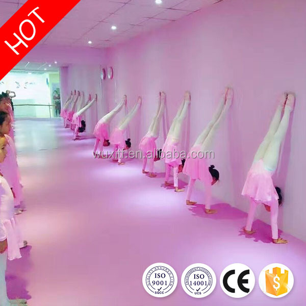 All kinds high quality non-slip dance room pvc floor mat with CE/ISO