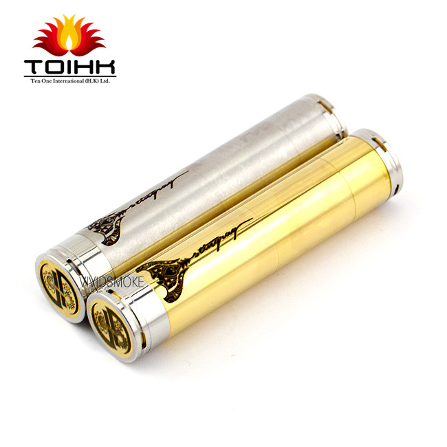 2014 new electronic cigarettes RBA Mechanical MOD 26650 mod hades clone stingray Black stingray mod