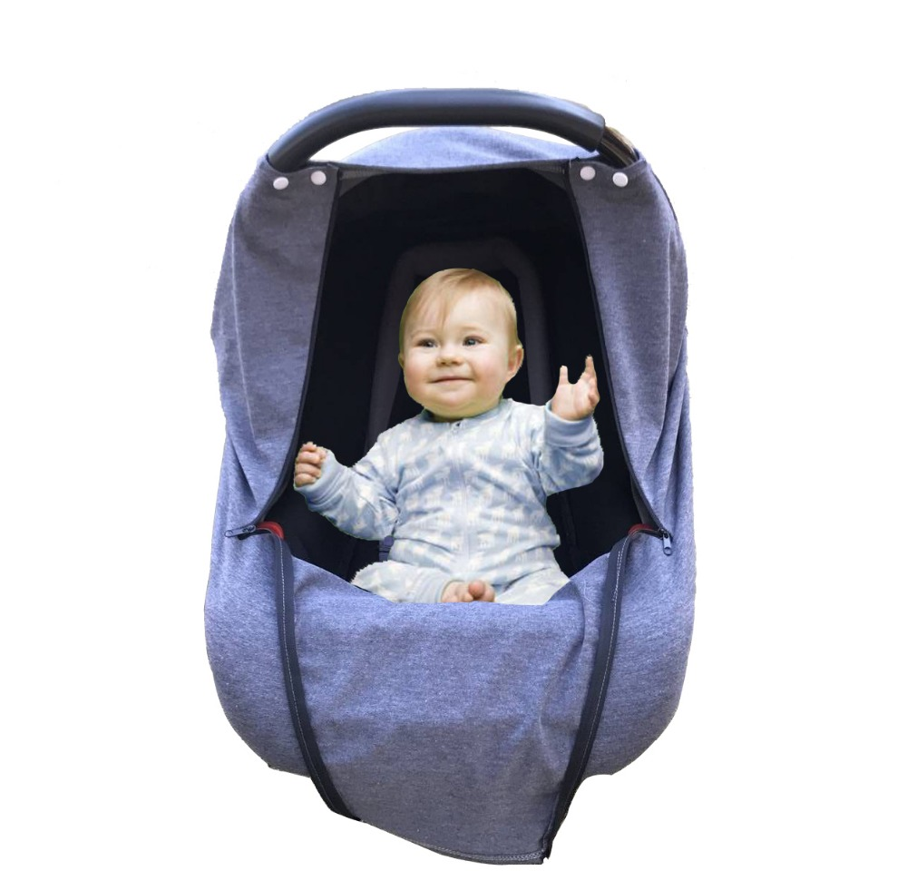 5 in 1 Multi-function nursing cover factory baby car seat cover for baby car seat canopy