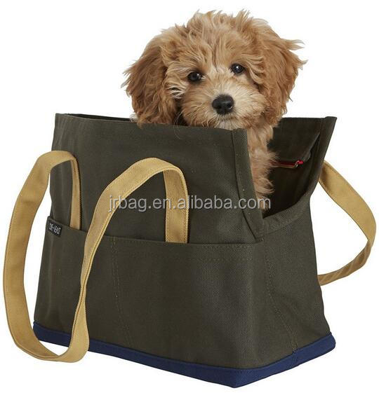 2017 Subway Lovely design canvas dog sleeping carry tote bag