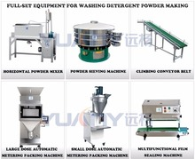 washing detergent powder making machine
