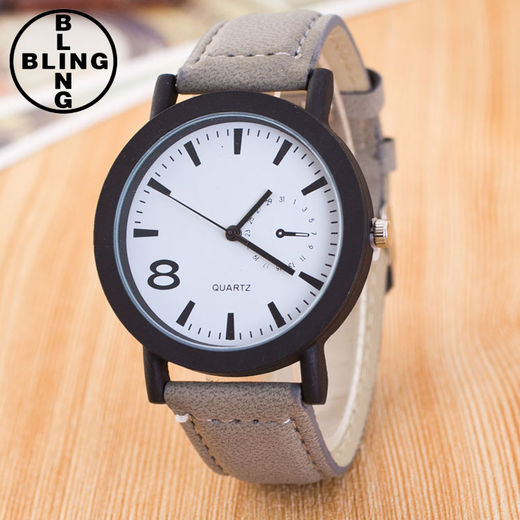 hot selling free wrist watches leather fashion western watch quartz fashionable wrist bracelet watches