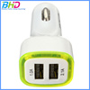 Universal Car charger Dual USB adapter cigarette lighter for iphone mobile phone