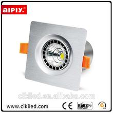 China supplier competitive price trimless AC85-265V 7w cob led down light