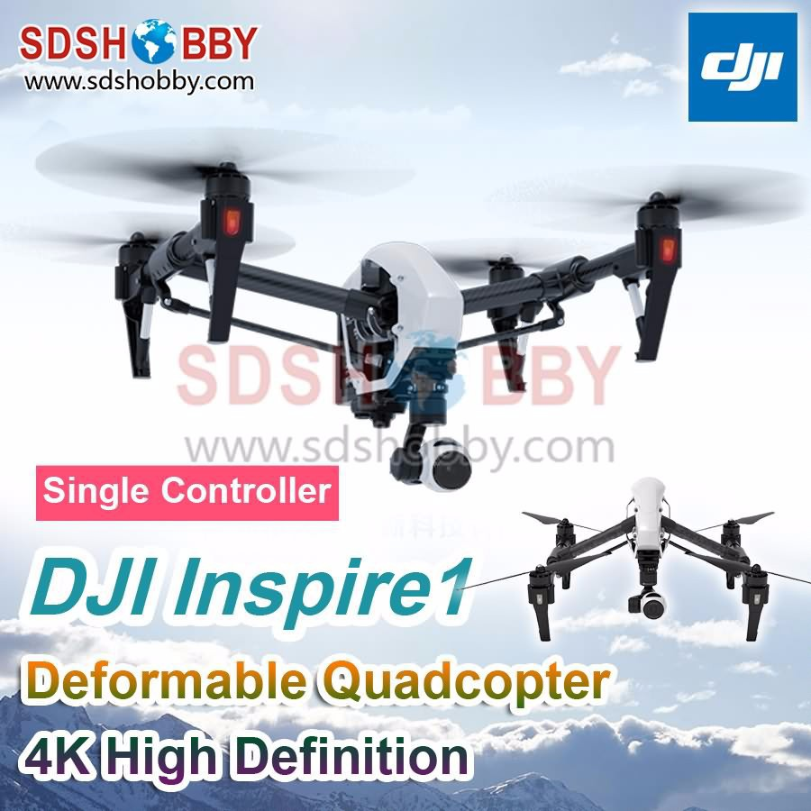 DJI Inspire1 V2 Version Deformable Four-Axle Flyer 4K High Definition Camera Quadcopter with Single Controller