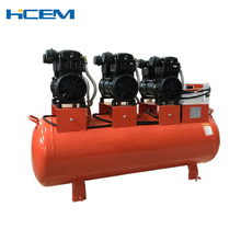 4.5KW 6hp 8 bar 116 psi silent air compressor for drilling rig