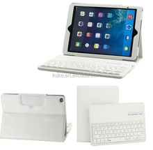 very cheap factory OEM leather case bluetooth keyboard for ipad air mini