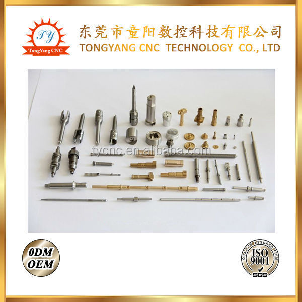 Low cost micro CNC Lathe Work parts