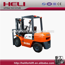 heli forklift for sale about 3ton diesel forklift in shanghai china