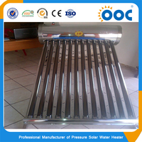 150L low pressure solar water heater use for 2to3 people family use