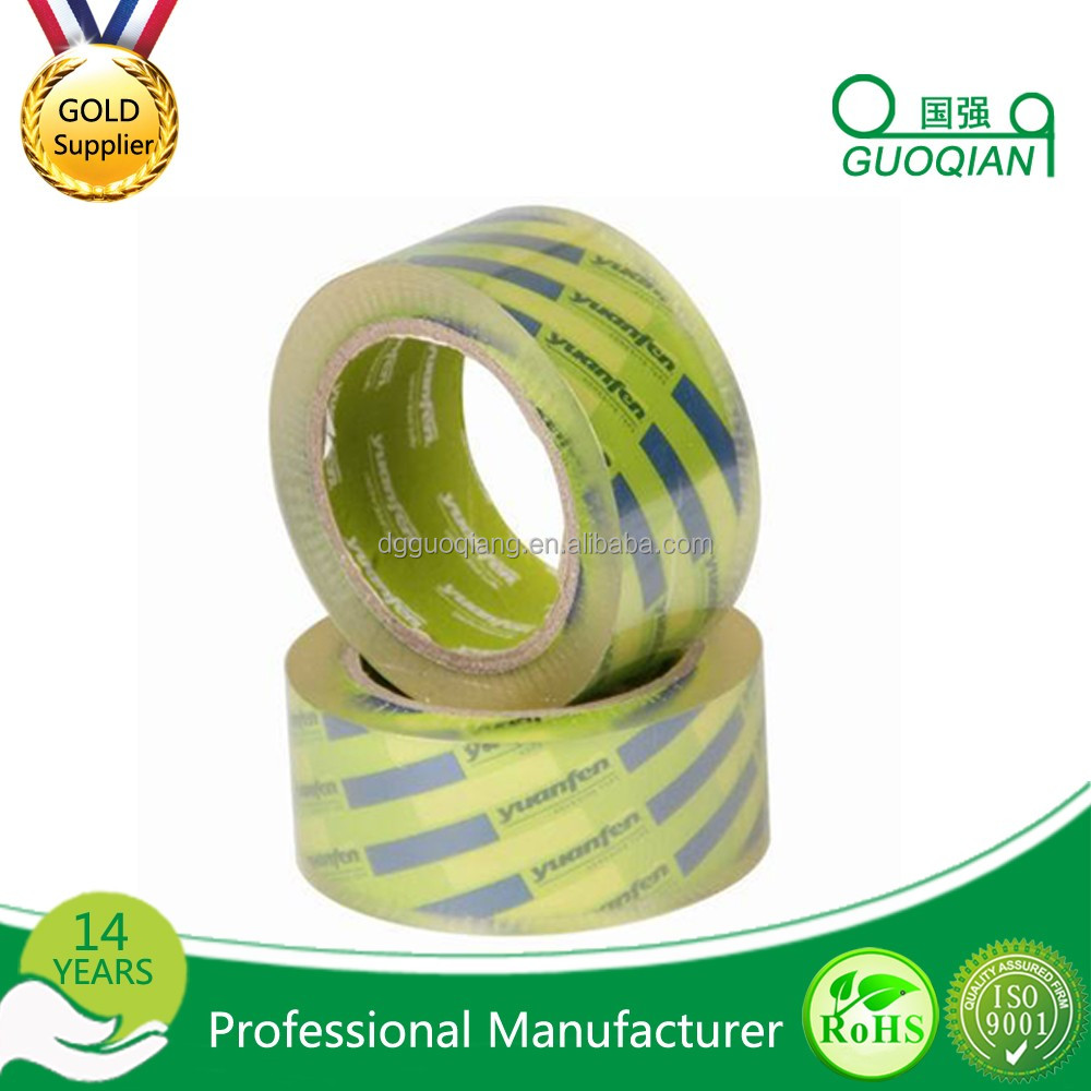 Waterproof BOPP Acrylic Clear Adhesive Tape for Packing Box