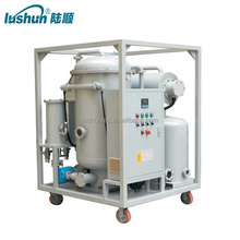 LUSHUN Brand Lubricating Oil Regeneration Plant, Industrial Lube Oil Purifier/Engine Oil Filtration Machine (ZL)