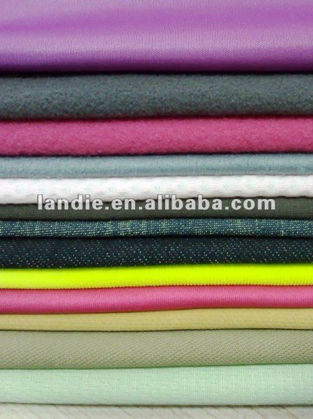 polyester ponte roma knitting fabric