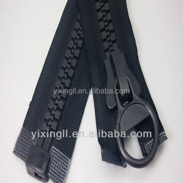 FACTORY PRICE!! Latest Fancy Different Types print zipper big size plastic zipper