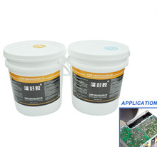 Manufacturer supply 2 part Thermal conductive silicone potting liquid silicone sealant for LED