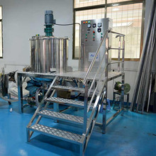 Dishwashing liquid mixing machine, dishwashing liquid making vessel/tank