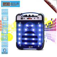 different color light bluetooth speaker light lamp for travel outdoor activities