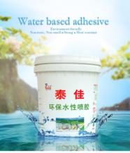 Taiqiang non-toxic waterproof glue water based textile adhesives non soluble Factory price
