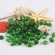 Decorative Glass light green glass beads for landscape swimming pool Marble stone 1-3mm 3-9mm