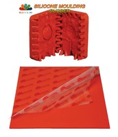 Satek Red Silicone Jewelry Molding Rubber