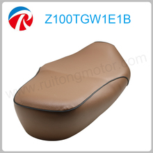 Retro Grand 50cc motorcycle leather seat cushion cover