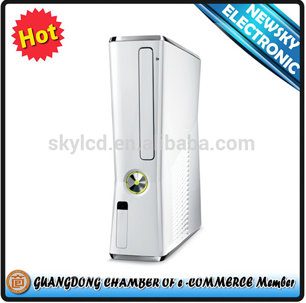 hot selling in stock white full housing shell case for xbox360 console shell