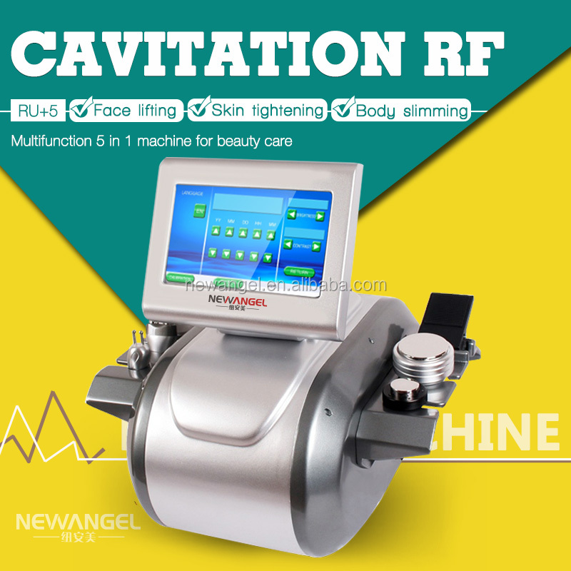 RF fat cavitation shape slimming body machine / fat loss cav rf